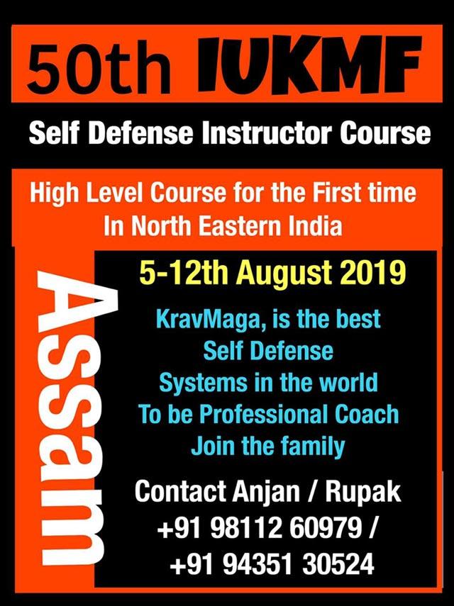 Self Defense Instructor Course - Assam