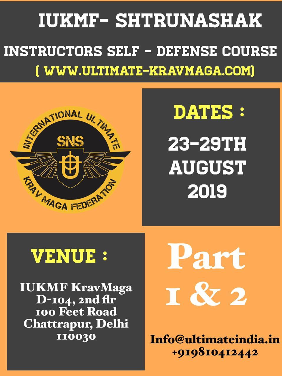 Civilian Instructor Course - Delhi